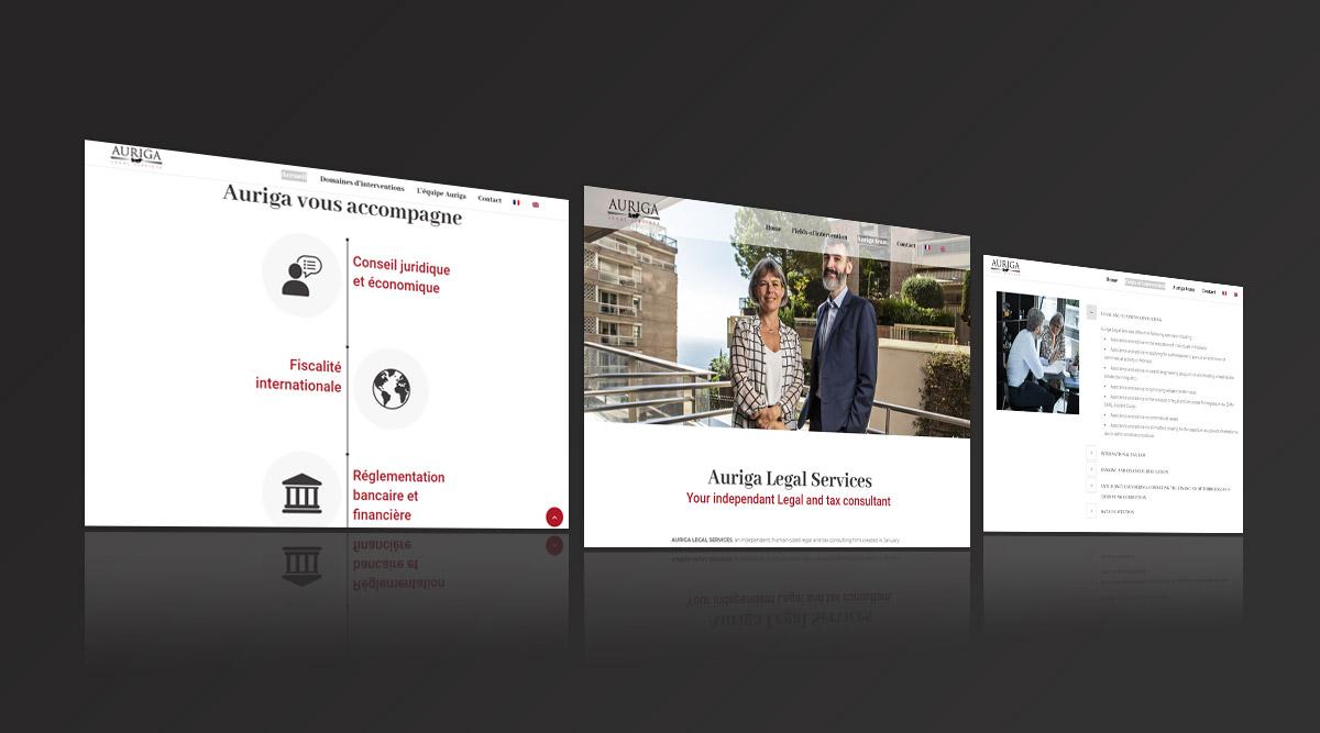 Site web Auriga